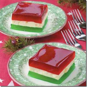 Holiday jello