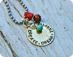 Create Dream Inspire Necklace