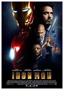 Poster of Iron Man movie