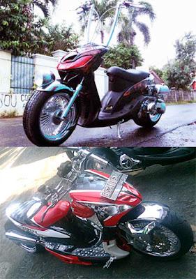 yamaha mio chopper bike