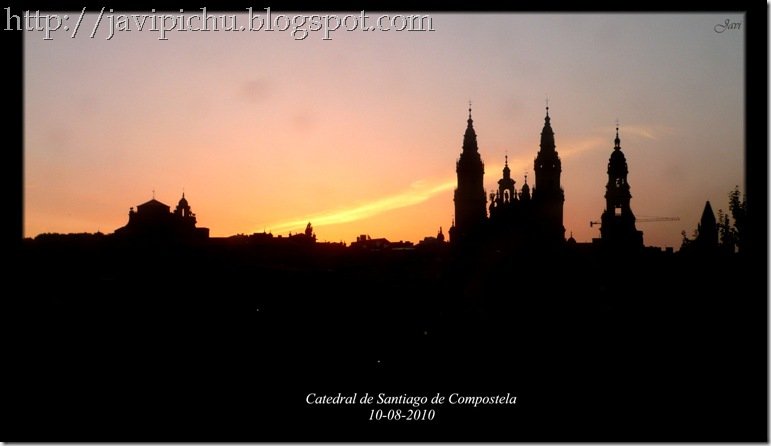 CatedralSantiagoamanecer