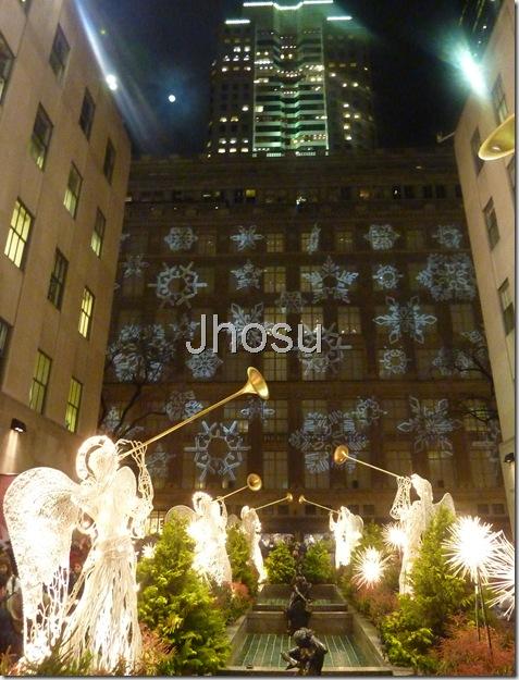 Los ángeles en Navidad. Jhosu