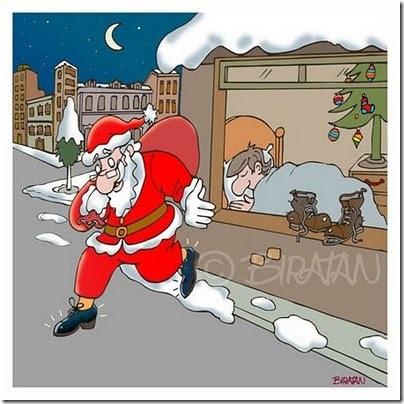 Papai Noel sapatos