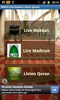 Screenshot of Live Makkah  Madina Quran