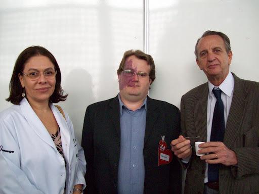 Dra. Heloísa, Valério e Dr. José Curado