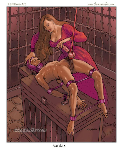 Ebony femdom erotic literature