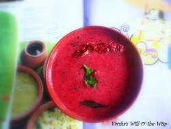 Beetroot pachadi