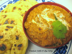 Porotta-Butter chicken