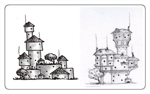Ideas For Art Sketches. The concept art i was provided