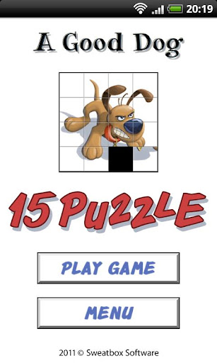 A Good Dog - 15 Puzzle Free