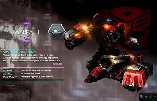 Transformers : War For...