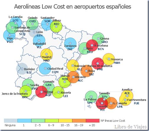Aeropuertos Low-Cost en España