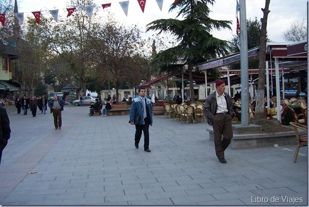 Barrio Eyup. Donde se encuentra la Mezquita más venerada por los turcos, donde se supone entrerrado un primo de Mahoma