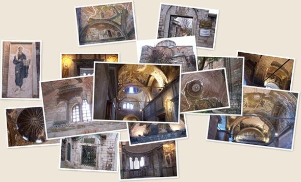 Ver Mosaicos en Sansalvador de Chora o Kariye. Estambul
