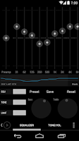 Screenshot of Poweramp skin KK/JB/ICS