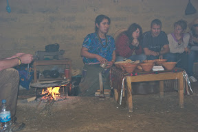 mayan smokey indoor kitchen