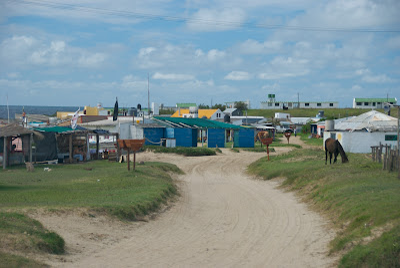 beach cabo polonio uruguay main street