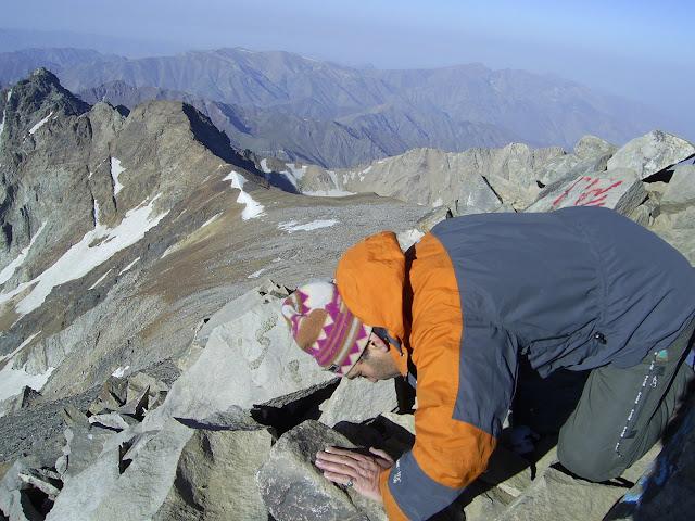 نشاط کوهستان - علم کوه - شهریور 86