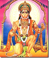 Hanuman - a great devotee