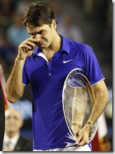 Federer after losing Australian Open final to Nadal