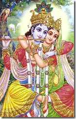 Radha and Krishna together