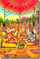 Vedic style wedding of Sita and Rama