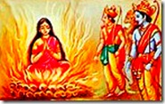 Sita's trial by fire