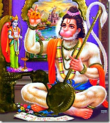 Hanuman's attachment to Lord Rama