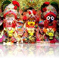 Ratha-yatra deities
