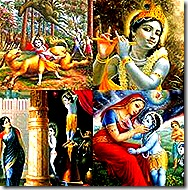 Lord Krishna's activities