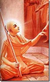 Lord Chaitanya as a sannyasi