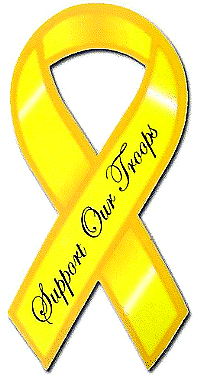 Support the Troops ribbon