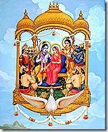 Sita and Rama returning home