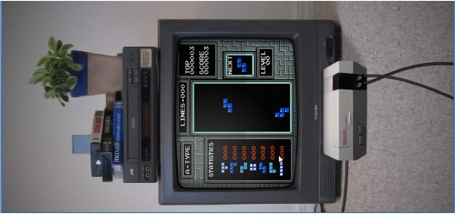 Tetris inverso