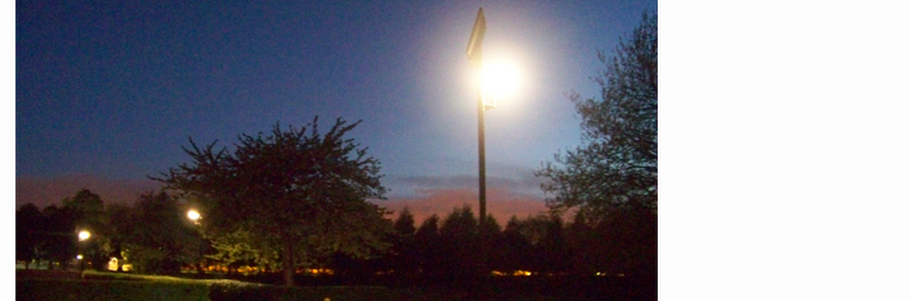 Solar Park Lighting - Chorlton Park