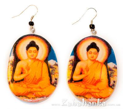 Сережки Будда