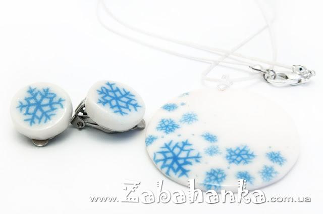 Набір - Сніжинки