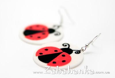 Сережки - Ladybugs