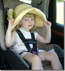 Ayla's spring hat