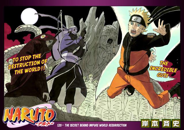 Naruto Manga 520
