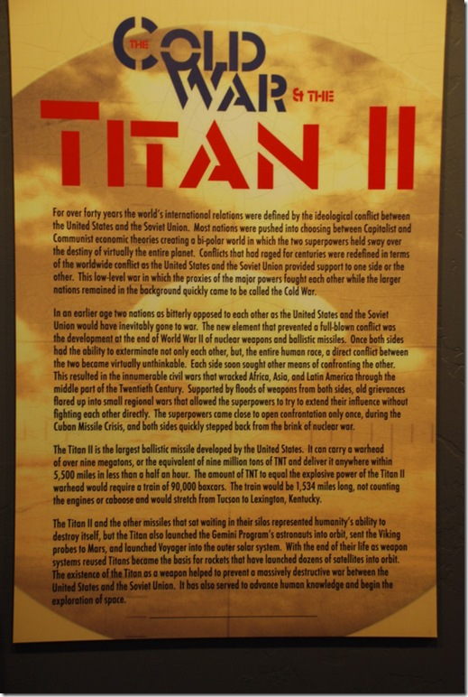 10-17-10 Titan Missile Museum (12)