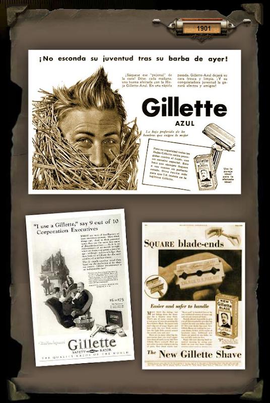 gillette-historia