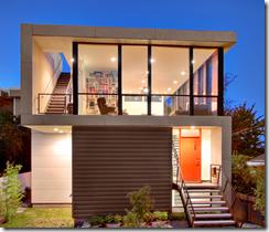 pequeña casa de bajo costo