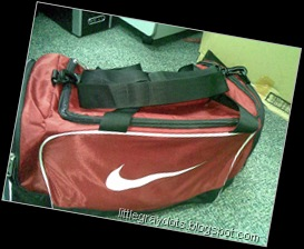 New Nike Gym Bag :-)
