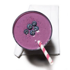 Blueberry-Tofu Smoothie