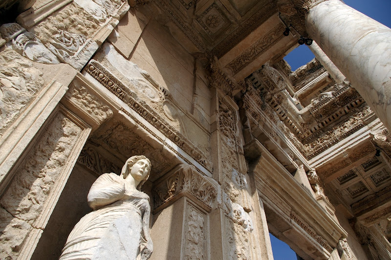 [建築]土耳其 Efes - Library of Celsus