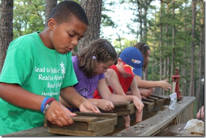 Gem Mining Activity at Lake Rudolph Campground & RV Resort