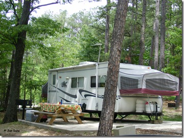 RV Site at Lake Rudolph Campground & RV Resort