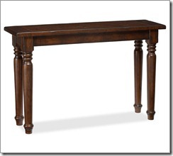 hyde turned leg console table1