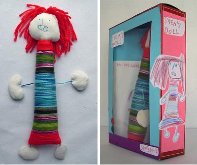Lizette Greco: Svea's doll